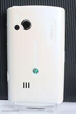 Sony Ericsson x10 mini pro batería original cover tapa White blanco batería