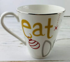 New ListingLenox Eat Drink and Be Merry Christmas Coffee Mug Cup American By Design