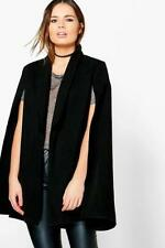 Regular Size Cape 100% Wool Coats & Jackets for Women