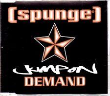 SPUNGE - JUMP ON DEMAND - 3 TRACK CD SINGLE