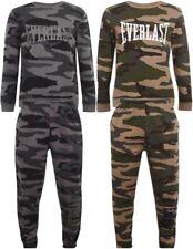 ✅ EVERLAST CAMO Trainings Anzug Jogging Sport Fitness Camouflage Pullover Hose