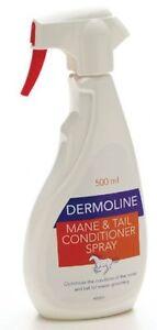 Dermoline Mane & Tail Conditioner Spray For Horses 500ml
