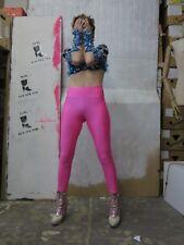 Leggings Hose pink stretch fitness gymnastik 90er TRUE VINTAGE 90s pants sport
