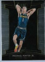 2018-19 Panini Select Basketball Michael Porter Jr. Concourse Rookie card No.37