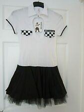 Ann Summers MISS ARREST POLICE fancy dress size 10.(BNWT DRESS ONLY)