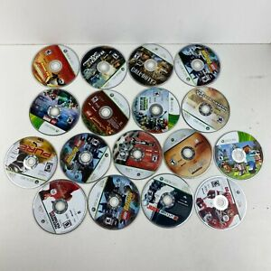Lot Of 17 Microsoft Xbox 360 Video Games Untested Disc Only Scratched No Cracks