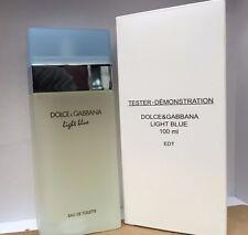 LIGHT BLUE By Dolce & Gabbana D&G for Women 3.3 oz / 100 ml  NEW UNBOX WITH CAP