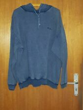 107 M) SOLIVER   Sweatshirt  mit  Kaputze   Kaputzenshirt   Jeans Blau  XL