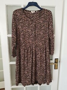 FAT FACE   3/4 sleeve jersey  dress size 18  great condition