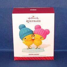 Hallmark - 2014 Sister Chicks - Ice Skating - Keepsake Christmas Ornament - NEW