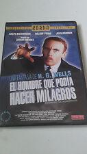 """DVD """"EL HOMBRE QUE PODIA HACER MILAGROS"""" COMO NUEVA KORDA LOTHAR MENDES RICHARDS"""
