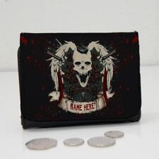 Faux Leather Skull Wallets for Men