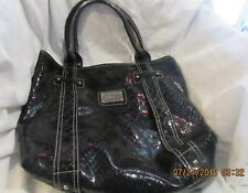 VERY NICE Guess Black Leather Tote Bag