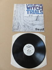 THE FALL Live At The Witch Trials STEP FORWARD LP 1979 UK 1ST PRESSING SFLP1