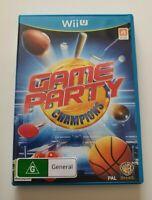 Game Party Champions Nintendo WiiU (Wii U Game) PAL