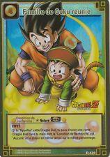 Famille de Goku réunie Holo. D-420 DBZ Carte Française