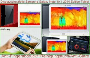 Antireflex Samsung Galaxy Note 10.1 2014 Edition P6000 matt Display Schutz Folie