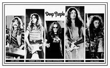 Deep Purple POSTER Come Taste the Band David Coverdale Tommy Bolin Glenn Hughes