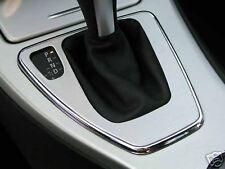 chrome cadre boite de vitesse automatique pour BMW E90 E91  3 Serie aluminium