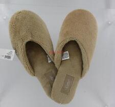 New Soma Intimates Cozy Luxe Fluffy Scuff Slipper - Taupe - Small 5/6
