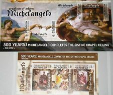 MICRONESIA MIKRONESIEN 2012 500th Ann Michelangelo Sistine Chapel Paintings MNH