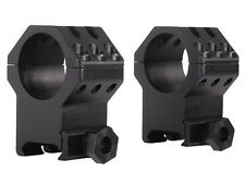 """NEW Weaver 1"""" Tactical 6-Hole Weaver-Style Rings Matte Ultra-High 48353"""