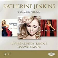 Katherine Jenkins Second Nature/Living A Dream/Rejoice 3-CD NEW SEALED 2014