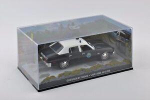 Modelcar DieCast 1/43 Chevrolet Nova Police James Bond 007 Live And Let Die