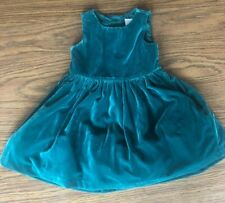 Gymboree 18-24 Months Green Velvet Dress Holiday Christmas Dressy NWT Outlet