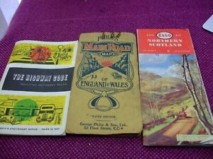 Vintage maps  & old Highway code bundle