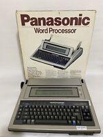 Panasonic Word Processor KX-W905 Accu Spell Plus Thesaurus Model TESTED w/ Box