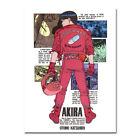 Akira Cartoon Artwork Poster Japan Anime Manga Picture Wall Art Print 24x36