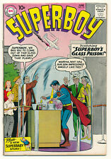 DC Comics Superboy Issue #73 Comic Book 5.5 FN- 1959 Superman Suberbaby!