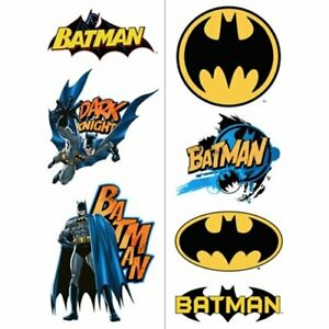 Batman Dark Knight DC Comics Superhero Birthday Party Favor Temporary Tattoos