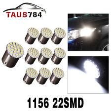 10x BA15S 1156 1141 White 22SMD LED Car Reverse Tail Brake Signal Light Bulb 12V