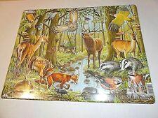 Larsen Puzzle - Tiere im Wald - 40 Teile