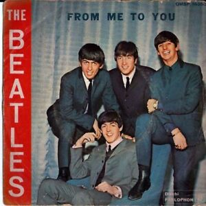 """THE BEATLES FROM ME TO YOU PARLOPHON Vinyl, 7"""",,Single, Blue labels, NO BIEM"""