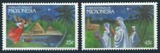 Micronesia 104-105,MNH.Michel 172-173. Christmas 1989.Heralding angel,Wise men.