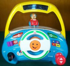 Fisher-Price Laugh & Learn Puppy's Smart Stages Driver Steering Wheel