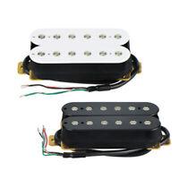 NEW Electric Guitar Humbucker Pickup Bridge Pickup Double Coil Black/White