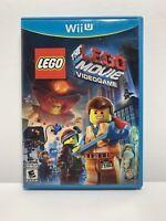The LEGO Movie Videogame [Nintendo Wii U, NTSC, Action Adventure Video Game] CIB
