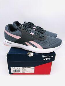Reebok Women's Reago Essential 2.0 Running Shoe True Gray & Classic Pink US 8.5M