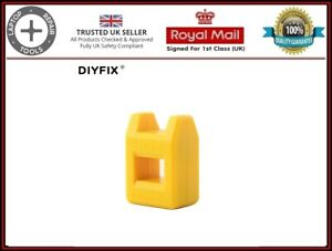 DIYFIX Mini Magnetizer Demagnetizer Magnetic Pick Up Tool for Screwdriver Tips
