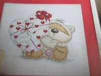 'Heart To Heart' Fizzy Moon cross stitch chart (only)