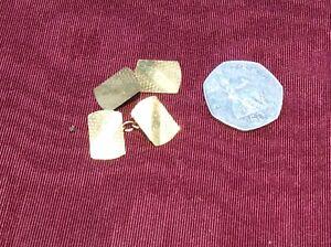 Vintage 9 ct gold cufflinks 3 Gram. H.G& S.