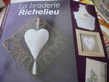 La Broderie Richelieu Livre Par Nathalie Bourdon-Editions De Saxe