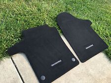 2016-up Mercedes-Benz Metris van FLOOR MAT FRONT LEFT+RIGHT CLOTH BLACK Genuine