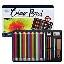 36 Piece Pencil Set Drawing Kit in Gift Tin - by Royal & Langnickel - RART-201