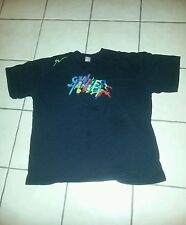 """T-SHIRT;2X;LOGO:""""Shooters""""  Super Rare-made in the USA ;Logos Front & Rear"""