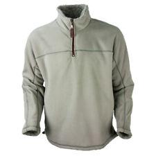 True Grit Mens/Unisex Bonded Polar 1/4 Zip Jacket Faded Heather Size XX Large